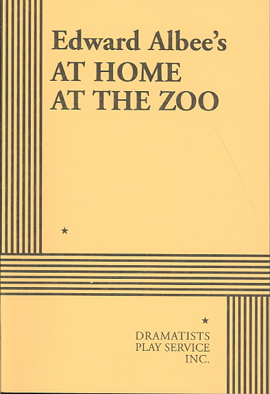 At Home at the Zoo By Albee, Edward